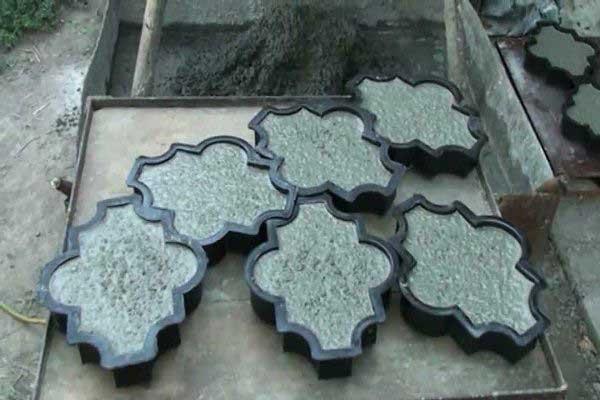Методы производства тратуарной плитки