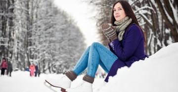 Как похудеть зимой