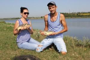 Вдвоём на рыбалке