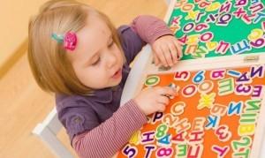 Ребёнок и буквы