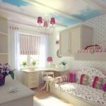Как обустроить комнату для девочки