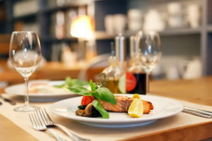 Блюда в ресторане