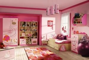 Функциональность в омнате девочки