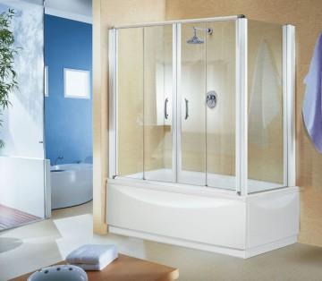 Жёсткие шторы для ванной