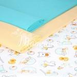Как подобрать цвет ткани для детской одежды?