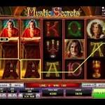 Коэффициенты умножения разных символов в автомате Mystic Secrets