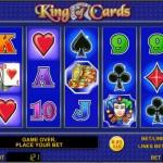 Описание вариантов игры в аппарате King of Cards