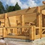 Преимущества возведения домов из профилированного бруса