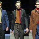 Мужская одежда John Galliano и Prada: осень-зима 2017-2018