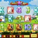 Графическое оформление слота Easter Eggs из казино Вулкан