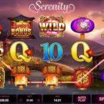 Основные параметры гаминатора Serenity из казино Суперслотс