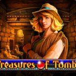 Ключевые характеристики автомата Treasure of Tombs с сайта казино Джет